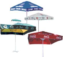 Werbedruck Schirm, Werbeschirm Creativ Promotion, Werbeschirmproduktion